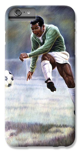 Soccer iPhone 7 Plus Case - Pele by Gregory Perillo