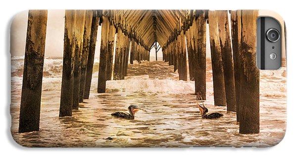 Pelican Paradise IPhone 7 Plus Case by Betsy Knapp