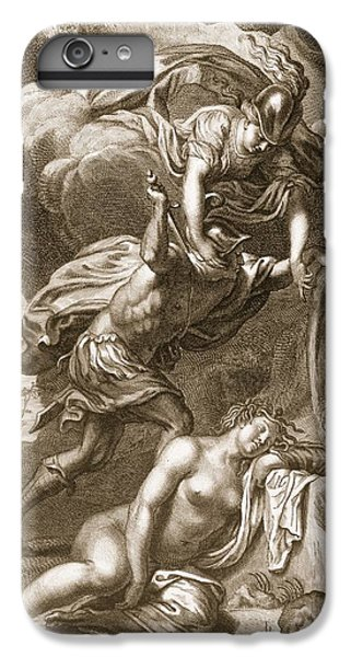 Gorgon iPhone 7 Plus Case - Perseus Cuts Off Medusas Head, 1731 by Bernard Picart