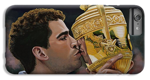Pete Sampras IPhone 7 Plus Case by Paul Meijering