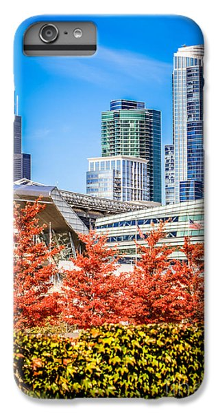 Picture Of Chicago In Autumn IPhone 7 Plus Case by Paul Velgos