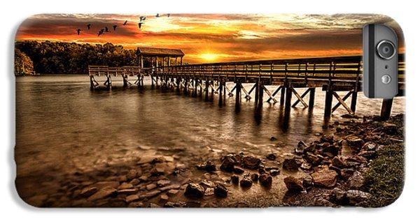 Lake iPhone 7 Plus Case - Pier At Smith Mountain Lake by Joshua Minso