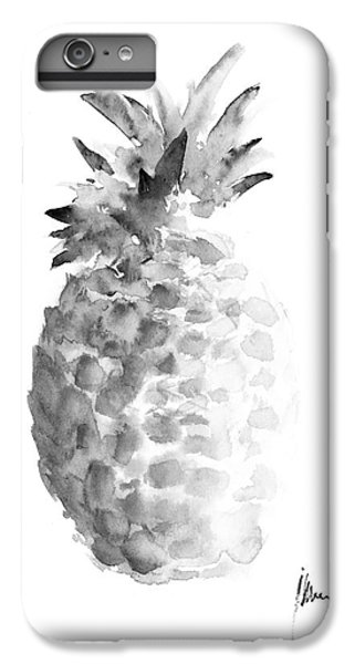 Pineapple Painting Watercolor Art Print IPhone 7 Plus Case