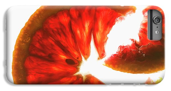 Pink Grapefruit, Backlit IPhone 7 Plus Case