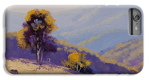 Rural Scenes iPhone 7 Plus Case - Plein Air  Study by Graham Gercken
