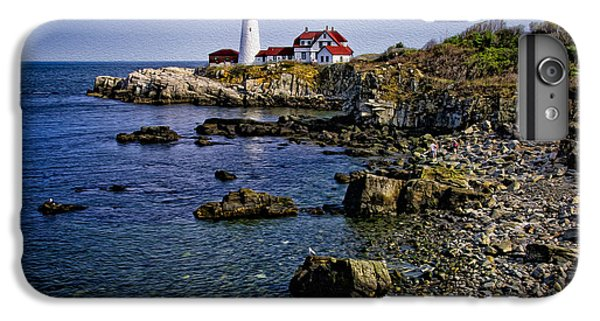 Portland Headlight 37 Oil IPhone 7 Plus Case by Mark Myhaver