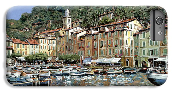 Boats iPhone 7 Plus Case - Portofino by Guido Borelli