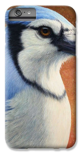 Bluejay iPhone 7 Plus Case - Portrait Of A Bluejay by James W Johnson