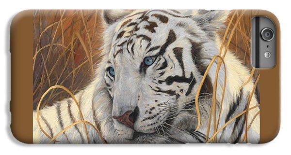 Portrait White Tiger 1 IPhone 7 Plus Case by Lucie Bilodeau