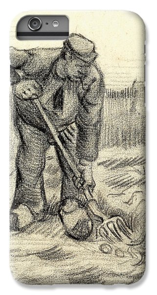 Potato Gatherer IPhone 7 Plus Case by Vincent Van Gogh