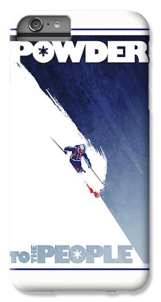 Sports iPhone 7 Plus Case - Powder To The People by Sassan Filsoof