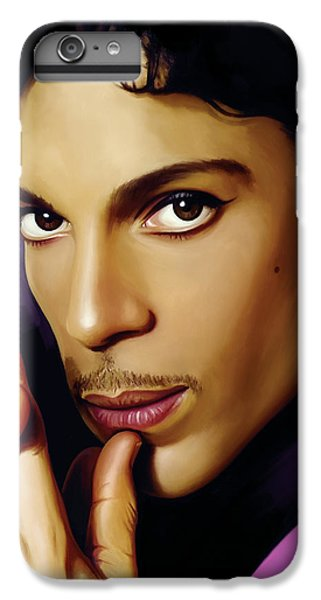 Rock And Roll iPhone 7 Plus Case - Prince Artwork by Sheraz A