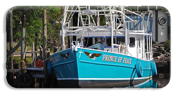 Shrimp Boats iPhone 7 Plus Case - Prince Of Peace by Michael Thomas