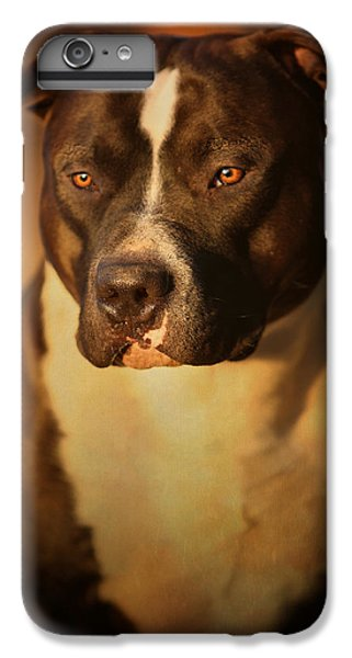 Bull iPhone 7 Plus Case - Proud Pit Bull by Larry Marshall