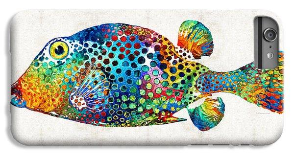 Puffer Fish Art - Puff Love - By Sharon Cummings IPhone 7 Plus Case