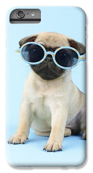 Pug iPhone 7 Plus Case - Pug Cool by MGL Meiklejohn Graphics Licensing