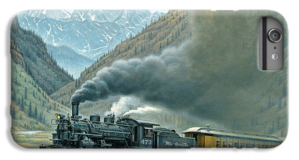 Mountain iPhone 7 Plus Case - Pulling For Silverton by Paul Krapf