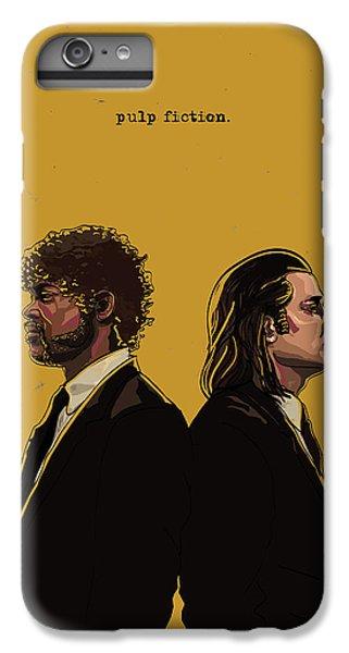 Contemporary iPhone 7 Plus Case - Pulp Fiction by Jeremy Scott