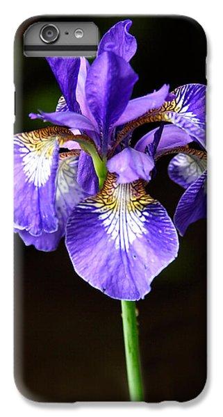 Purple Iris IPhone 7 Plus Case by Adam Romanowicz