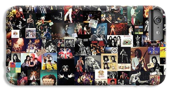 Led Zeppelin iPhone 7 Plus Case - Queen Collage by Taylan Apukovska