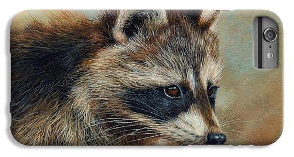 Raccoon iPhone 7 Plus Case - Raccoon by David Stribbling