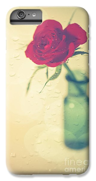 Rose iPhone 7 Plus Case - Raindrops On Roses . . . by Jan Bickerton