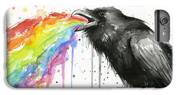Raven Tastes The Rainbow IPhone 7 Plus Case