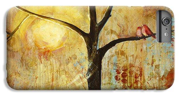 Red Birds Tree Version 2 IPhone 7 Plus Case by Blenda Studio