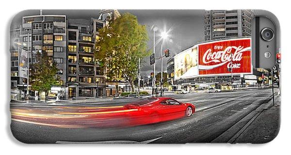 Red Lights Sydney Nights IPhone 7 Plus Case by Az Jackson