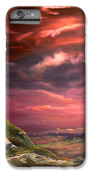 Crossbill iPhone 7 Plus Case - Red Sky At Night by Jean Walker