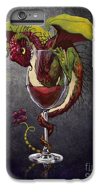 Wine iPhone 7 Plus Case - Red Wine Dragon by Stanley Morrison