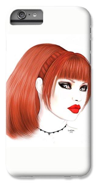 Redhead Cassia IPhone 7 Plus Case by Renate Janssen