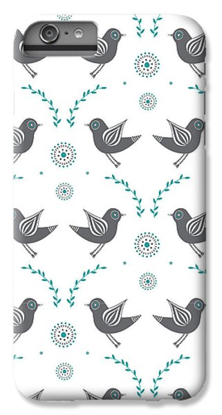 Lovebird iPhone 7 Plus Case - Repeat Lovebird by Susan Claire