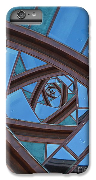 IPhone 7 Plus Case featuring the photograph Revolving Blues. by Clare Bambers