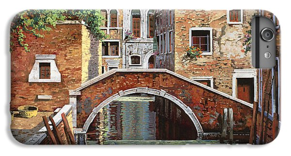 Boats iPhone 7 Plus Case - Riflessi Di Venezia by Guido Borelli