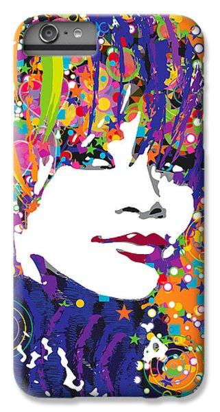 Rihanna In Blue IPhone 7 Plus Case by Irina Effa