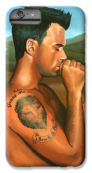 Robbie Williams 2 IPhone 7 Plus Case by Paul Meijering