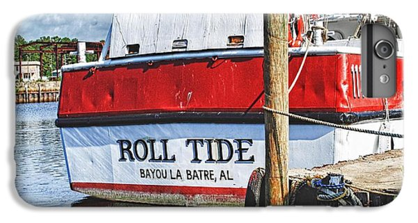 Shrimp Boats iPhone 7 Plus Case - Roll Tide Stern by Michael Thomas