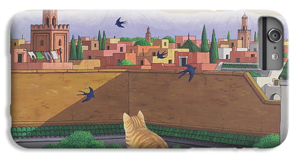 Rooftops In Marrakesh IPhone 7 Plus Case by Larry Smart