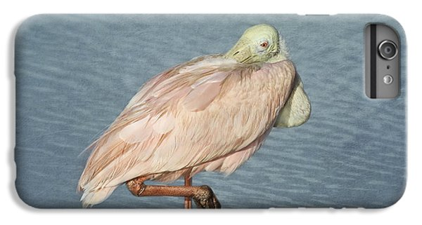Spoonbill iPhone 7 Plus Case - Roseate Spoonbill by Kim Hojnacki