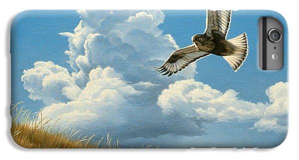Hawk iPhone 7 Plus Case - Rough-legged Hawk by Paul Krapf