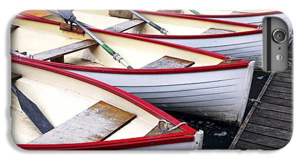 Boats iPhone 7 Plus Case - Rowboats by Elena Elisseeva
