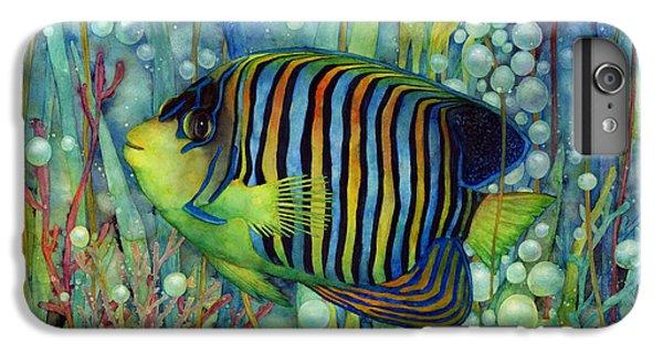 Marine iPhone 7 Plus Case - Royal Angelfish by Hailey E Herrera