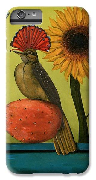 Flycatcher iPhone 7 Plus Case - Royal Flycatcher  by Leah Saulnier The Painting Maniac