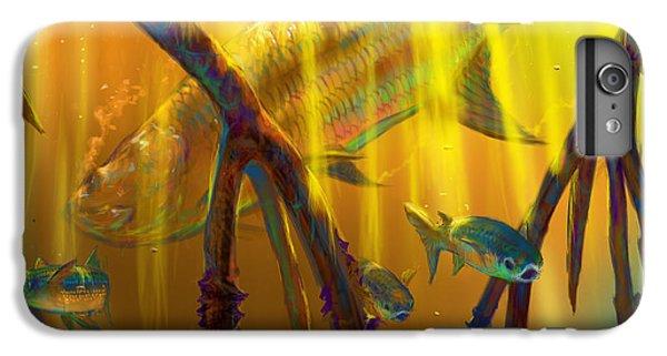 Shrimp Boats iPhone 7 Plus Case - Safe Place  by Yusniel Santos