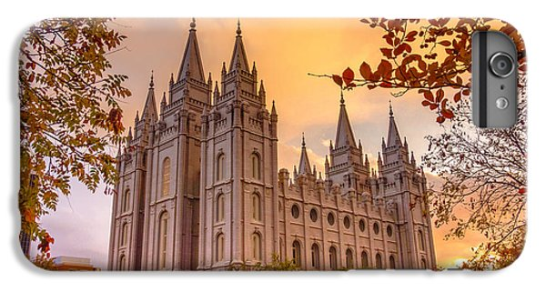 Lake iPhone 7 Plus Case - Salt Lake City Temple by Emily Dickey