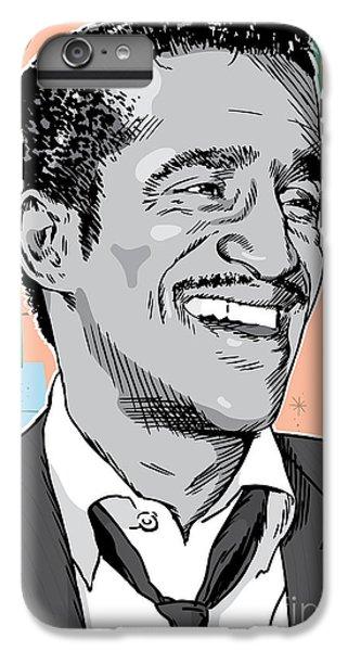 The Moon iPhone 7 Plus Case - Sammy Davis Jr Pop Art by Jim Zahniser