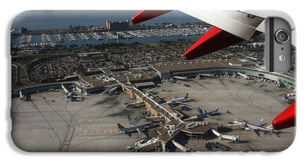 IPhone 7 Plus Case featuring the photograph San Diego Airport Plane Wheel by Nathan Rupert