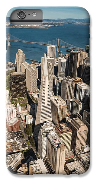 Helicopter iPhone 7 Plus Case - San Francisco Aloft by Steve Gadomski