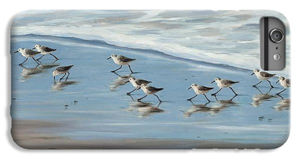 Sandpiper iPhone 7 Plus Case - Sandpipers by Tina Obrien
